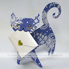 """3D Special Delivery Greeting Card - Cat """"Mia"""" - SD-028"""