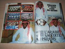 RIVISTA ONZE=N°109 1/1985=INDEPENDIENTE CAMPIONE MONDIALE=COPPA D'ASIA=FERNANDEZ