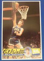 BILL WALTON HOF signed auto autograph UCLA 4x6 card Boston Celtics Trailblazers