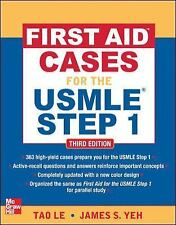 First Aid Cases for the USMLE Step 1 by Tao Le (2012, Paperback)