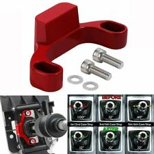 Red Manual Shifter Stop Shift Gap Removal Fit For Subaru WRX Forester 2015-2019