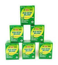 Cap Dragon Balsem Gosok Hijau Green Balm, 10 Gram (Pack of 6)