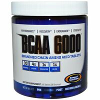 GASPARI NUTRITION BCAA 6000 180 TABS BRANCHED CHAIN AMINO ACIDS LEUCINE HEAVY