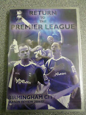 RETURN TO THE PREMIER LEAGUE - BIRMINGHAM CITY - DVD - (NEW & SEALED)