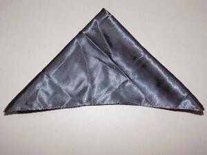 Alfani Men's Charcoal Solid Pocket Square Handkerchief 100%Polyester NWOT PS388