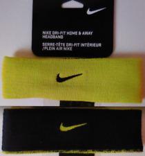 Nike Unisex Dri-fit Home   Away Reversible Headband Lime black bac6006a6ad