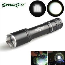Powerful 5000Lumen Zoomable CREE XML T6 LED 18650 Flashlight Torch Lamp Light