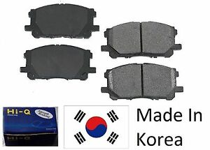 Pickup 4WD FRONT and REAR CERAMIC Brake Pads AND Shoes 2 Sets Fits Toyota 4Runner