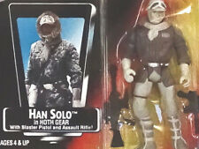 Han Solo Hoth Gear Hasbro Unopened Star Wars POTF 2 1995 Action Figure Red Card