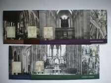 The Cathedrals Silver Stamp Collection, Five Covers, Booklet and Box
