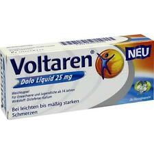 VOLTAREN Dolo Liquid 25 mg Weichkapseln    20 st      PZN 5023939