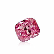 Pink Diamond - 0.09ct Natural Loose Fancy Intense Purple Pink GIA Cert Marquise