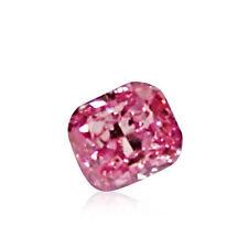 Pink Diamond - 0.09ct Natural Loose Fancy Intense Purple Pink GIA Cert Marquise