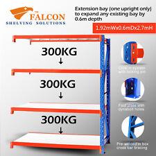 Long Span Storage Warehouse Shelving Racking Racks Shelf, 2Wx0.6Dx2.7mH A