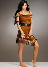 Womens Pocahontas Style Native Indian Costume
