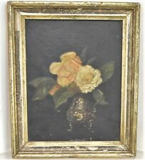 Rare Antique AB Gomes 1795 oil on canvas painting 18th Century