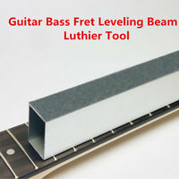 8''  Folk Guitar Bass Fret Leveling File Aluminum Beam Luthier Tool Accessory