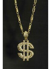 $-Symbol schwere Kette Halskette Dollarzeichen pimp