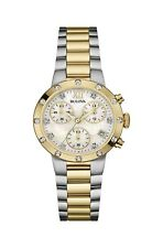 Bulova Women's Quartz Chronograph Two-Tone 30mm Bracelet Watch  98R209