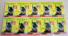 10 X Topps Batman Returns Trading Card Packs Unopened