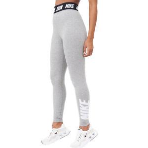 Nike Women's Nike Sports Wear Club Legging - Dark Grey Heather Size Small