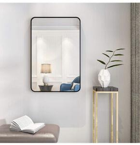 Whitebeach Mirrors for Wall Bathroom Mirror,Round Corner Style