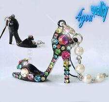 Alloy Black Costume Handbag Jewellery & Mobile Charms