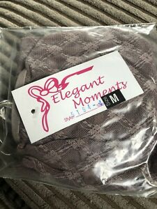 BNWT Elegant Moments Lace Camisole Set (5194) Colour Brown Size Medium