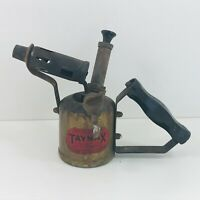 Vintage Brass Blow Torch Paraffin TAYMAX British made For Renovation