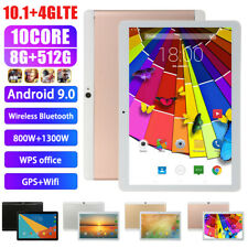 New 10'' Tablet PC Android 9.0 Octa 10Core 2Ghz 10 Inch HD WIFI 2SIM 4G US Plug