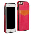 Wallet Card Slot Holder Flip Stand Back Cover Case For iPhone 6S 7 Plus HOT