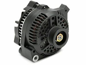 Ford Mustang 1 Wire One Wire High Output Alternator 115AMP Flat Black Small Case
