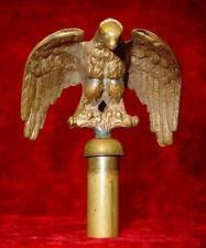 ANTIQUE ROMAN LEGION Style Civil War BRONZE EAGLE STANDARD / Flag Pole FINIAL