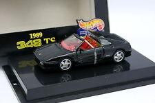 Hot Wheels 1/43 - Ferrari 348 TS Noire 1989