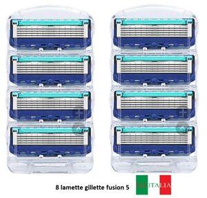 8 Lamette Compatibile Con Gillette fusion 5