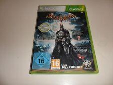 XBox 360  Batman: Arkham Asylum - classics (3)