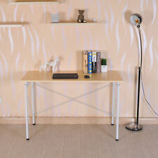 HOMCOM Computer Desk Laptop Wood Study Table Workstation Home Furniture