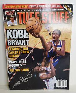 KOBE BRYANT April 1998 Tuff Stuff Magazine! GREAT CONDITION & A MUST HAVE! HOF🔥