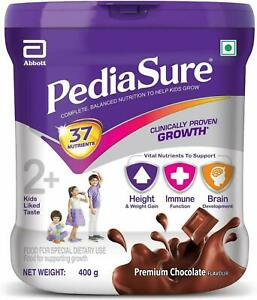 2X PediaSure Health & Nutrition Drink Powder for Kids Growth 400g jar(Chocolate)