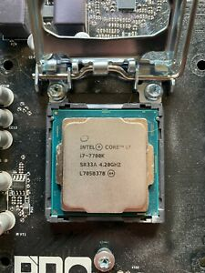Intel Core i7 7700K 4.2 GHz Quad-Core Processor **TESTED/WORKING**
