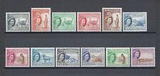 SOMALILAND 1953 SG 137/48 MNH Cat £120