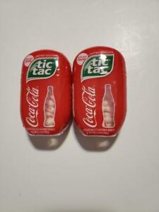 Lot Of 2 Coca-Cola Flavored Tic Tac's LIMITED EDITION 3.4 oz 200 Each