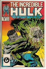 Marvel Comics Incredible Hulk #334 August 1987 Todd McFarlane VF+