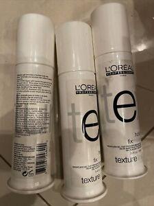 L'Oréal Artec Texture Line Hold Fix Move Gel 3.4oz Ea. Set Of 3 Bottles See Des