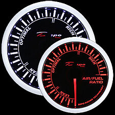 52mm Depo Racing A/F Air Fuel Ratio Gauge White Amber Red WA5277B
