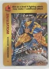 1995 Marvel Overpower Collectible Card Game #AA Wolverine (Beserk Attack) k0w