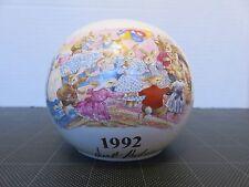 Vtg Bunnykins Royal Doulton Piggy Bank Porcelain Us Special Event Tour 1992 #4