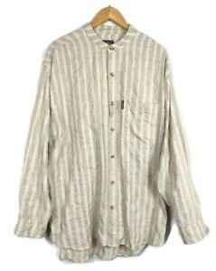 Vintage Firetrap Men's Button Front Shirt Size XL Cotton India LS VGC