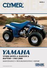 1985 - 2008 Yamaha YFM80 MOTO-4 BADGER RAPTOR Clymer Service Repair Manual M4992