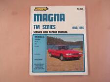 Mitsubishi Magna, workshop, service and repair manual, 1985–1986